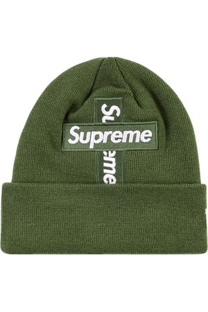 "Supreme New Era cross box-logo beanie ""FW 20"""