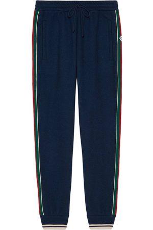 Gucci Pantalon de jogging à bord Web