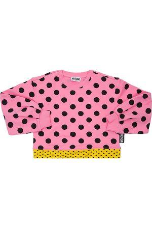 Moschino Sweat-shirt En Coton À Imprimé