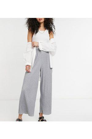 ASOS ASOS DESIGN Tall - Pantalon style jupe-culotte plissé - chiné