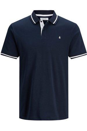 Jack & Jones Jersey Polo Men blue