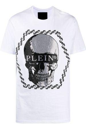 Philipp Plein Homme Débardeurs - Pull à ornements en cristal