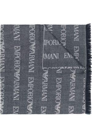 Emporio Armani écharpe longue à logo