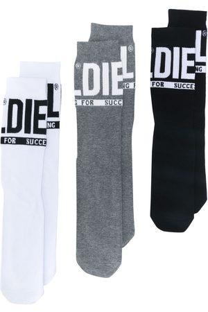 Diesel Lot de trois paires de chaussettes à logo
