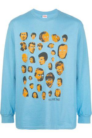 Supreme T-shirt imprimé à manches longues