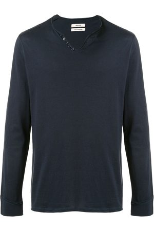Zadig & Voltaire T-shirt à manches longues à col v