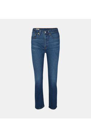 Levi's Jean slim 501 Original Cropped