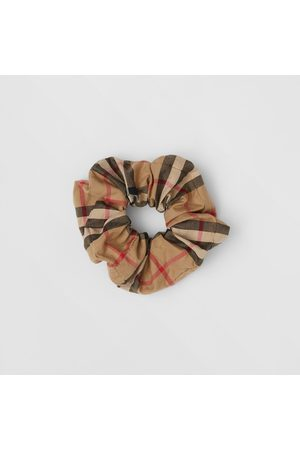 Burberry Chouchou en coton Vintage check, Size: OS