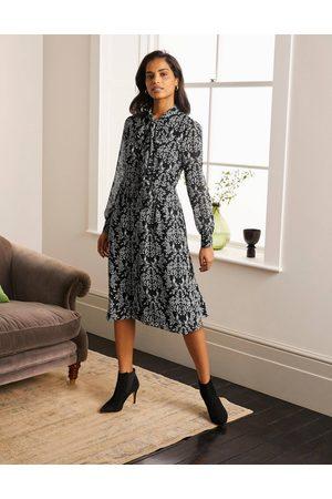 Boden Femme Robes business - Robe-chemise Sylvia BLK Femme Boden