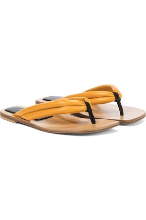 DRIES VAN NOTEN Tongs en cuir