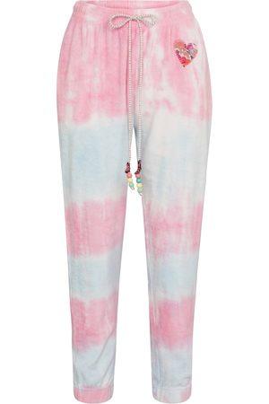 LOVESHACKFANCY Pantalon de survêtement Santinella tie & dye