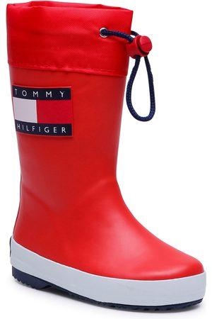 Tommy Hilfiger Bottes de pluie - Rain Boot T3X6-30766-0047 M Red 300