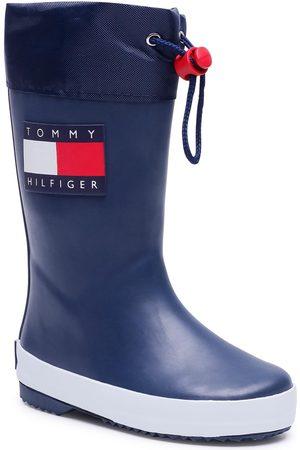 Tommy Hilfiger Bottes de pluie - Rain Boot T3X6-30766-0047 M Blue 800