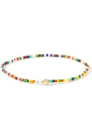 LUIS MORAIS Bracelet en 14 carats, diamant et perles