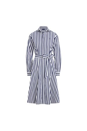 Polo Ralph Lauren Robe-chemise en coton rayé