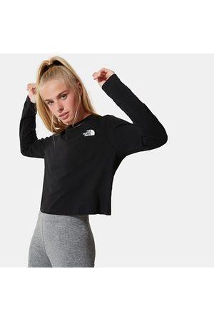 The North Face T-shirt Court À Manches Longues Pour Femme Tnf Black Taille L