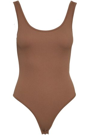 Vero Moda Femme Bodys - Sans Manches Body Women brown
