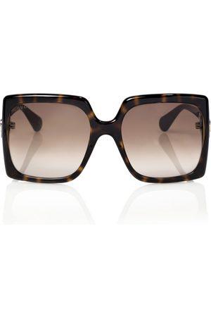 Gucci Femme Lunettes de soleil - Lunettes de soleil carrées en acétate
