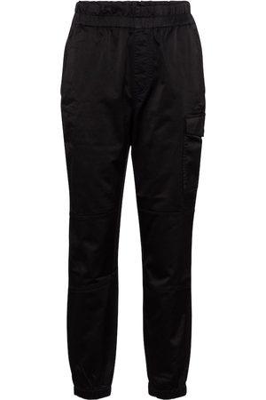 J Brand Femme Cargos - Pantalon Piper à taille haute en coton mélangé