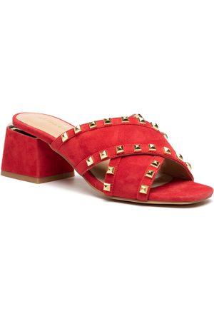 Alma en Pena Mules / sandales de bain - V21284 Suede Red