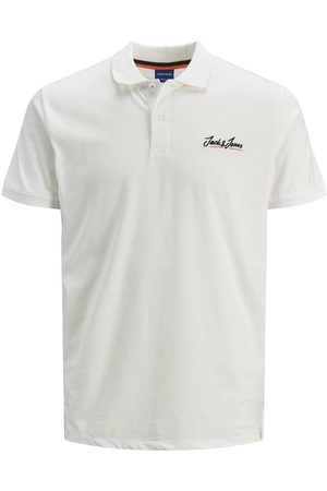 Jack & Jones Jersey Simple Polo Men White