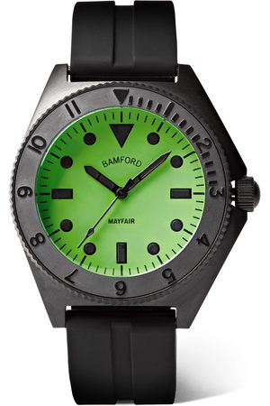 BAMFORD LONDON Homme Montres - Mayfair Stainless Steel and Rubber Watch