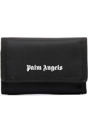 Palm Angels Portefeuille pliant à logo imprimé