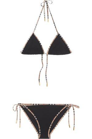 Burberry Bikini à bords Vintage Check