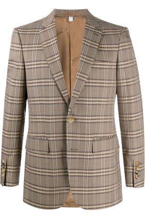 Burberry Homme Vestes - Blazer à carreaux Prince de Galles