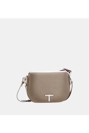 Le Tanneur Sac besace moyen modèle Gisèle en cuir lisse