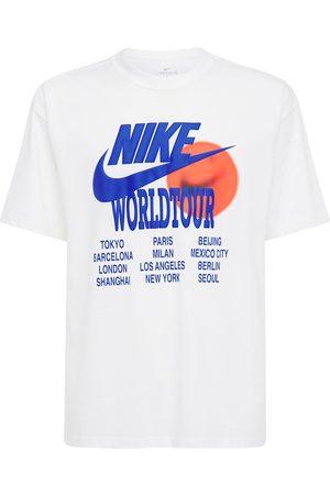 "Nike T-shirt Imprimé ""world Tour"""