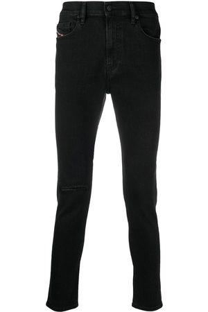 Diesel Jean skinny à teinture foncée