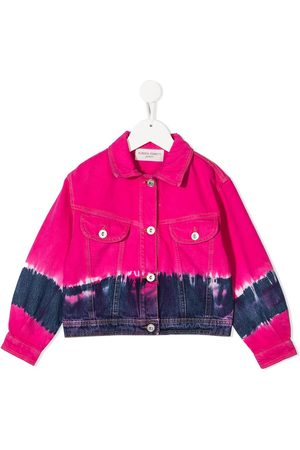 Alberta Ferretti Kids Tie-dye denim jacket