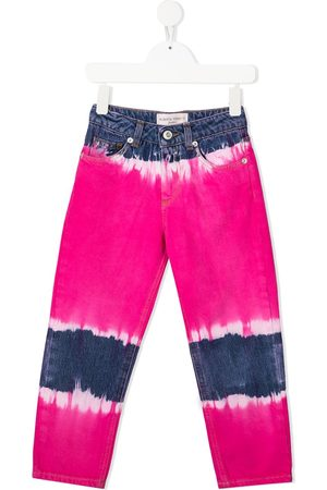 Alberta Ferretti Tie-dye straight leg jeans