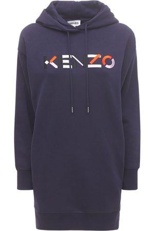 Kenzo Femme Robes pulls - Robe Pull En Coton Molletonné
