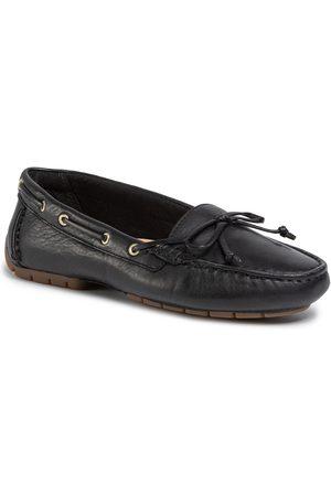 Clarks Femme Mocassins - Mocassins - C Mocc Boat 261492704 Black Leather
