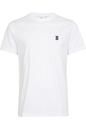 Burberry T-shirt en coton Monogram