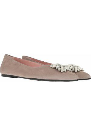 Pretty Ballerinas Ella Ballerinas Leather en taupe - pour dames