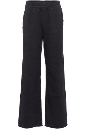 Acne Studios Pantalon de survêtement ample en coton