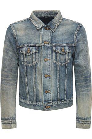Saint Laurent Homme Vestes en jean - Veste Ajustée En Denim De Coton