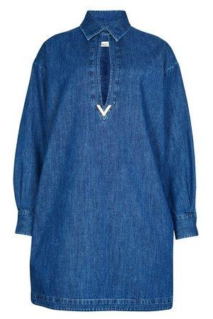 VALENTINO Robe en jean
