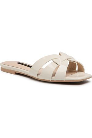 Gino Rossi Femme Mules & Sabots - Mules / sandales de bain - V608-01-1 White