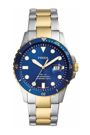 Fossil Men FB-01 Three-Hand Date Stainless Steel Watch en multi - pour dames