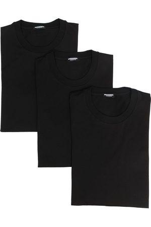 Dsquared2 Lot de trois t-shirts à col ras-de-cou
