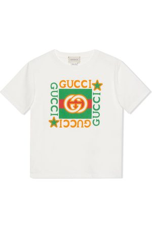 Gucci Kids T-shirt à logo imprimé
