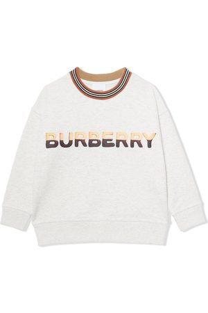 Burberry Kids Sweat à logo imprimé