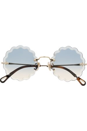 Chloé Eyewear Lunettes de soleil Rosie à monture ronde