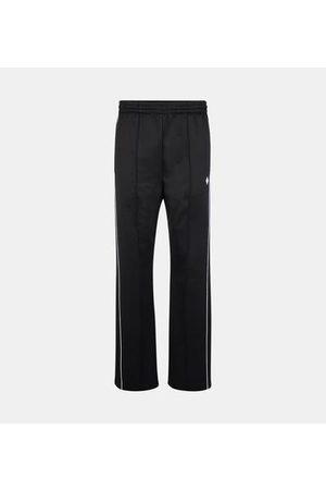 Marcelo Burlon Homme Pantalons larges - Jogging droit nylon fluide