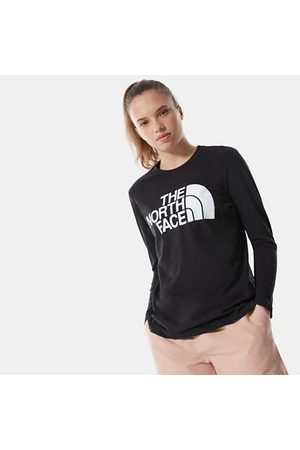 The North Face T-shirt À Manches Longues Standard Pour Femme Tnf Black Taille L