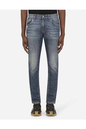 Dolce & Gabbana Homme Skinny - Collection - JEAN SKINNY STRETCH À PETITES ABRASIONS male 44